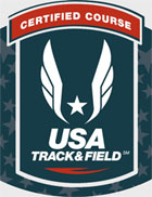 Certified Course by USA Track & Field